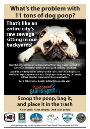 What is the Problem with Pet Waste - Kitsap County Government