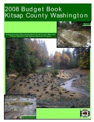 2008 Budget Book - Kitsap County Government
