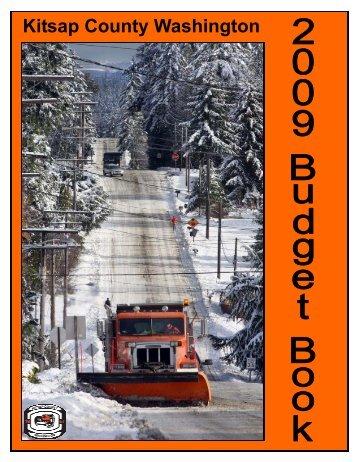 2009 Kitsap County Budget Book - Kitsap County Government