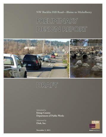 30% Draft Design Report - Kitsap County Government