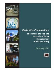 Waste Wise Communities: - Kitsap County Government