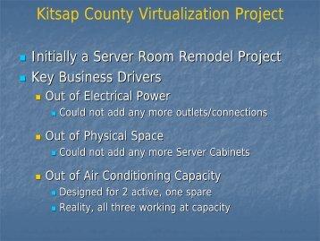 Download PDF presentation here - Kitsap County Government