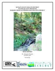 Barker Creek Restoration Project - Kitsap Public Health District