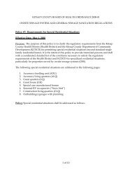 Requirements for Special Residential Situations - Kitsap Public ...
