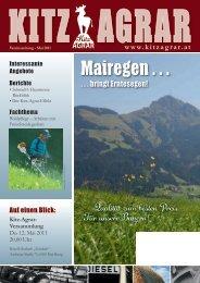 Vereinszeitung - Kitzagrar