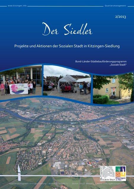 """""""Der Siedler"""" Ausgabe 02/2013 - Stadt Kitzingen"""