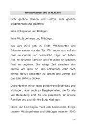 gemeinsam - Stadt Kitzingen