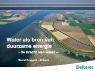 Water als bron van duurzame energie - kivi niria