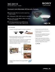 SNC-DH110 - Sony