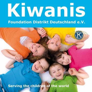 Kiwanis Foundation Flyer (PDF) - Kiwanis Deutschland