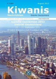 Kiwanis Nachrichten 02/13 - Kiwanis Deutschland
