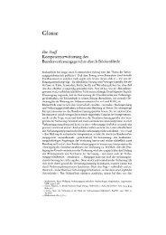 Kompetenzerweiterung des Bundesverfassungsgerichts durch ...