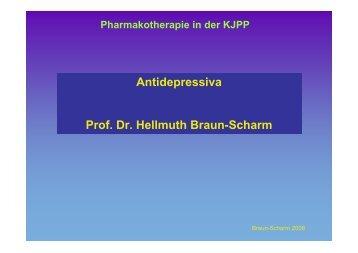 Antidepressiva Prof. Dr. Hellmuth Braun-Scharm