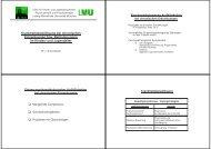 Krankheitsbewältigung bei chronischen Erkrankungen bzw ...