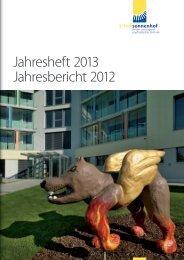 Jahresheft 2013 Jahresbericht 2012 - Klinik Sonnenhof