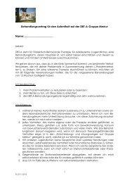 Behandlungsvertrag für den Aufenthalt auf der ... - Klinik Sonnenhof