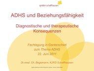 (ADHS)-Kindes
