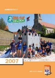 KJR-Jahresbericht 2007 (2,0 MB) - Kreisjugendring Forchheim
