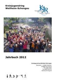 Jahrbuch 2012 - KJR Weilheim-Schongau