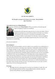 KJV 2011-2012 (GROEP 5) Het Flip-effect: gevangen in het lichaam ...