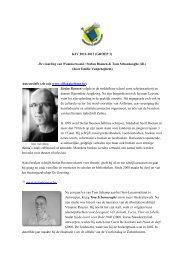 KJV 2012-2013 (GROEP 3) De vindeling van Wammerswald ...