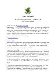 KJV 2012-2013 (GROEP 3) De schone slaapster / Siska Goeminne ...