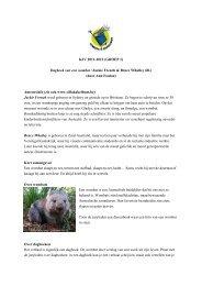 Dagboek van een wombat / Jackie French & Bruce Whatley (ill.)