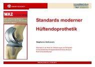 Standards moderner Hüftendoprothetik (Stephanie Verhoeven ...