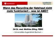 Wenn das Recycling der Netzhaut nicht h f kti i t i tAMD? mehr ...