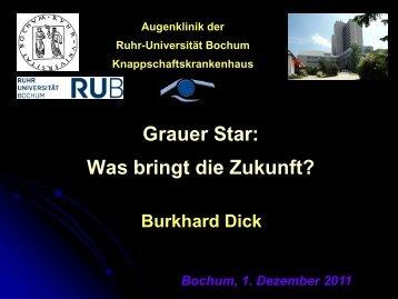 was bringt die Zukunft? - Knappschaftskrankenhaus Bochum