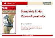 Standards in der Knieendoprothetik (Dr. Lukas Niggemann ...