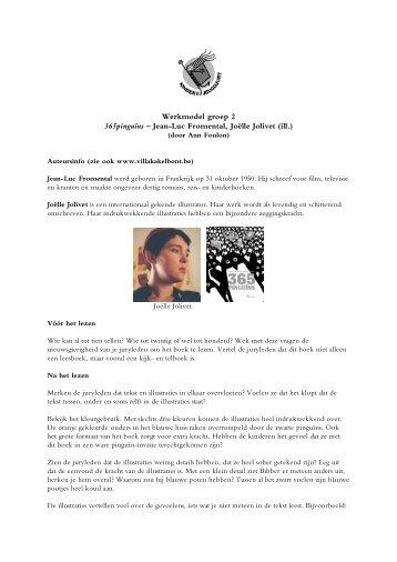 Werkmodel groep 2 365pinguïns – Jean-Luc Fromental, Joëlle ...