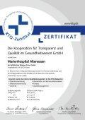 Link Zertifikat - Katholisches Klinikum Essen - Seite 2