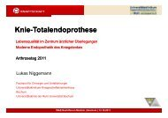 Knie-Totalendoprothese p - Knappschaftskrankenhaus Bochum