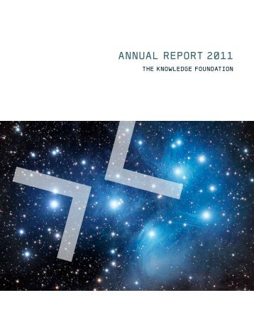 AnnuAl RepoRt 2011 - KK-stiftelsen