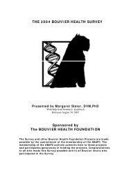 THE 2004 BOUVI ER HEALTH SURVEY Sponsored by The ... - Data