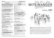 EINANDER MIT - Katholische Kirche - Flingern/Düsseltal