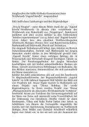 Konrad-Zuse-Jugendpreis der Eduard-Rhein-Stiftung