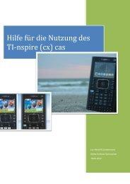 Hilfe für die Nutzung des TI-nspire (cx) cas - Käthe-Kollwitz ...