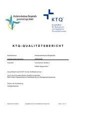 KTQ-Qualitätsbericht - Kreiskrankenhaus Bergstraße Heppenheim
