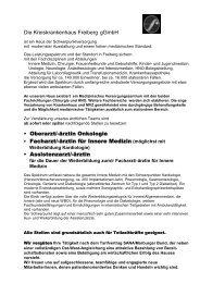 ärztin Onkologie Facharzt/-ärztin für Innere Medizin (möglichst mit