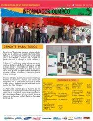 boletin-019 - Comite Olimpico Guatemalteco