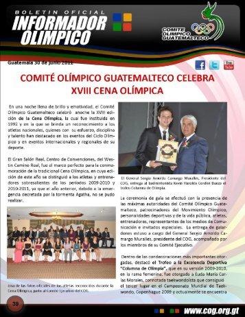 boletin-039 - Comite Olimpico Guatemalteco