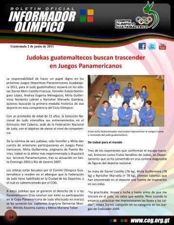 boletin-034 - Comite Olimpico Guatemalteco