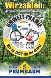Aktuelles Prospekt zu unserer Umweltprämie - Zweirad Prumbaum ...