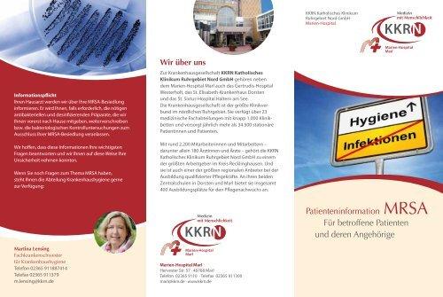 Flyer Patienteninformation MRSA - KKRN
