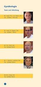 Gynäkologie und Geburtshilfe Gynäkologie und Geburtshilfe - KKRN - Seite 4