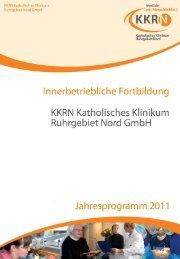 Hinweise zur Anmeldung und Organisation - KKRN