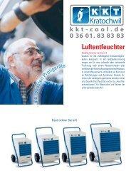 Bautrockner - KKT-Cool