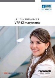 VRF-Klimasysteme - KKT-Cool